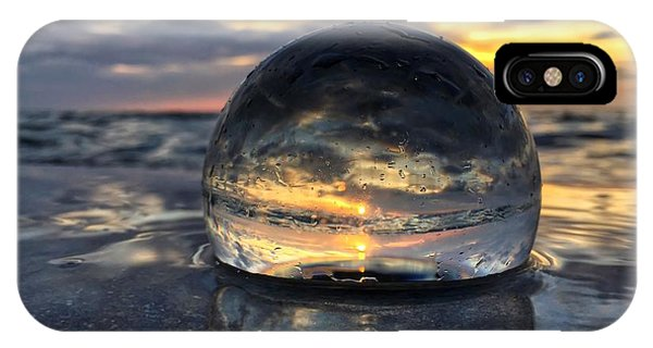 Reflections Of The Crystal Ball IPhone Case