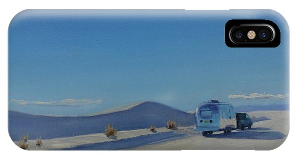 Reflections Of White Sands IPhone Case