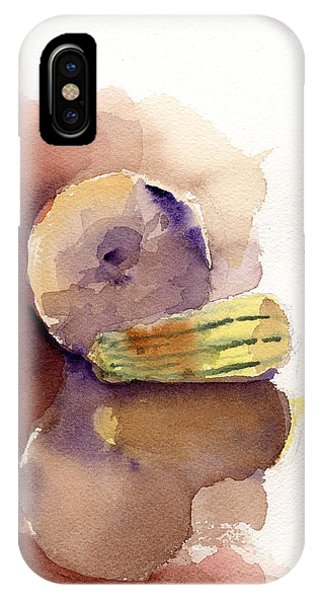 Reflections On A Winter Squash IPhone Case