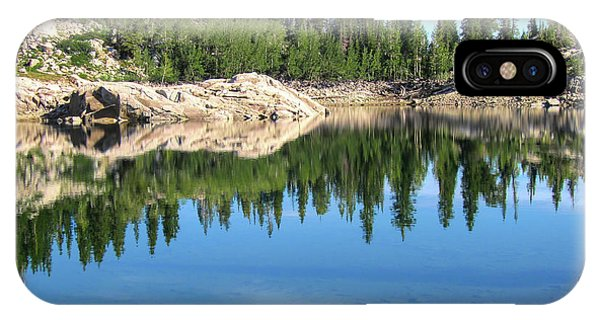 Reflections On Lake Mary IPhone Case