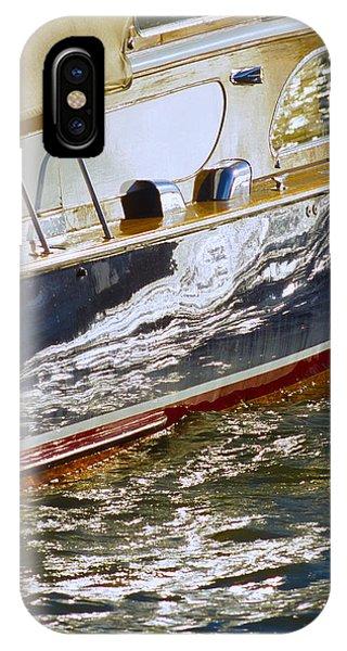 Reflections On Lorelei - Lake Geneva Wisconsin IPhone Case