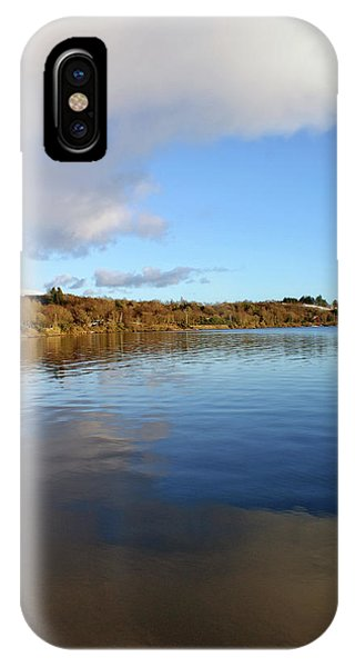 Reflections On Lough Fea. IPhone Case