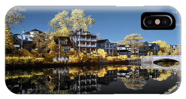 Reflections On Wesley Lake IPhone Case