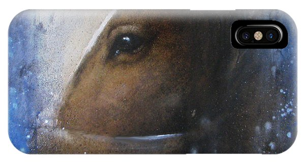 Reflective Horse IPhone Case