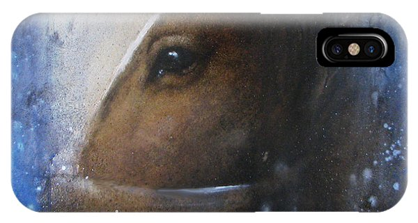 Reflective Horse IPhone Case