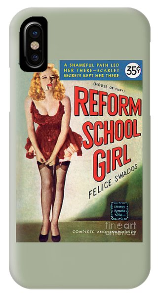 Reform School Girl IPhone Case