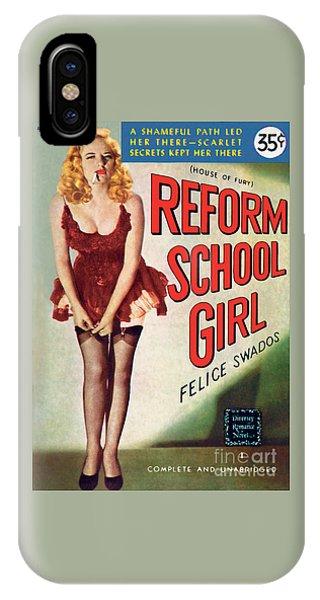 Reform School Girl IPhone Case
