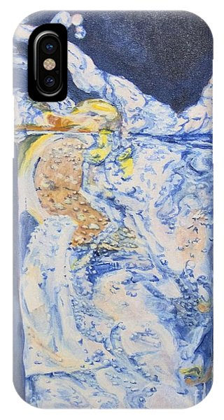 IPhone Case featuring the painting Refresh by Saundra Johnson