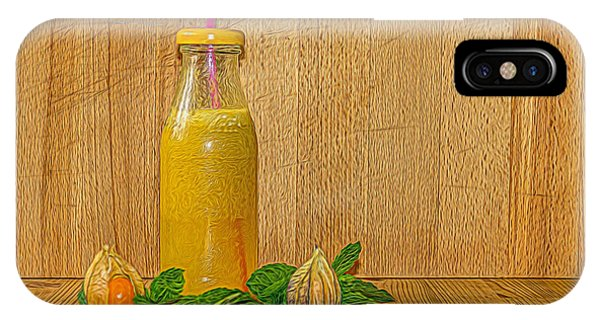 Smoothie iPhone Case - Refreshment by Angela Aird
