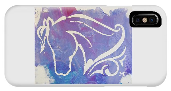 Regal Horse IPhone Case