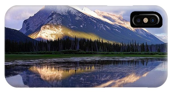 Mount Rundle IPhone Case