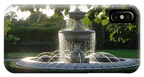 Regents Park Fountain IPhone Case