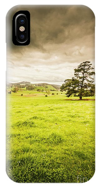Weathered iPhone Case - Regional Rural Land by Jorgo Photography - Wall Art Gallery