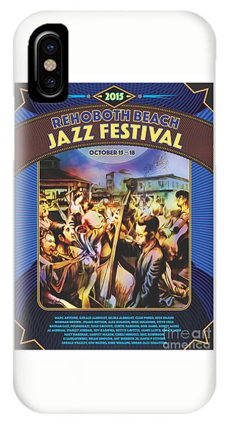 Rehoboth Beach Jazz Fest 2015 IPhone Case