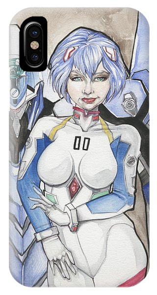 Rei Ayanami IPhone Case