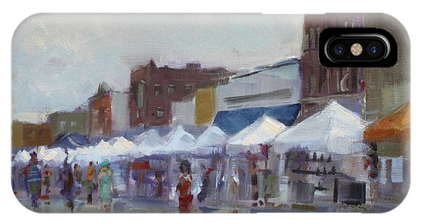 Fair iPhone Case - Rein And Sun At Canal Fest In North Tonawanda by Ylli Haruni