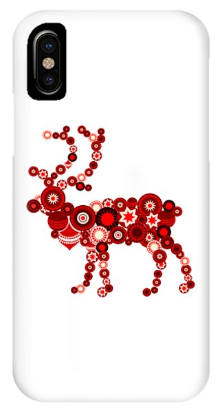 Reindeer - Christmas Ornaments - Holiday Season IPhone Case