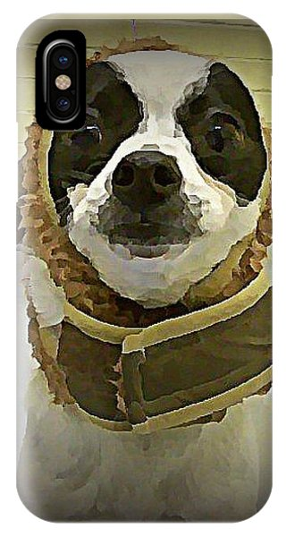iPhone Case - Reindeer Dog by Raven Hannah