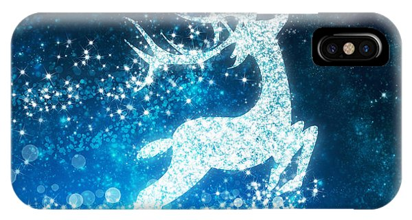 Reindeer Stars IPhone Case