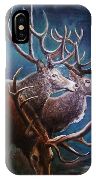 Reindeers IPhone Case