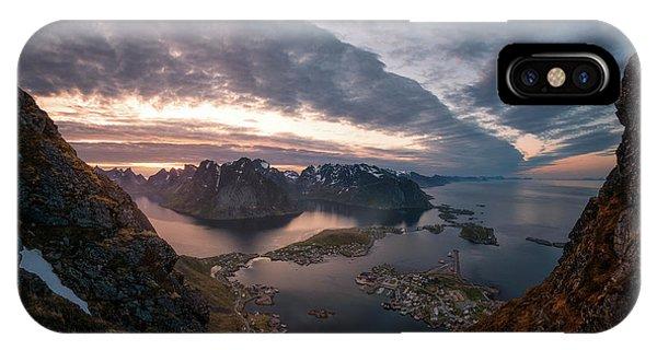 Nikon iPhone Case - Reine by Tor-Ivar Naess