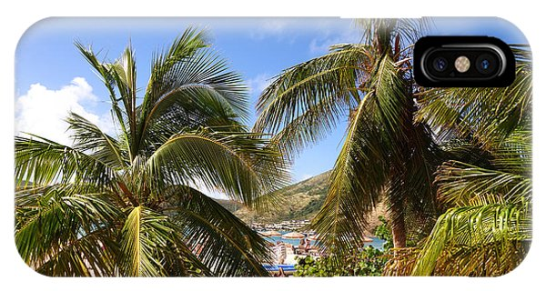 St. Maarten iPhone Case - Relaxing On The Beach. Pinel Island Saint Martin Caribbean by Toby McGuire