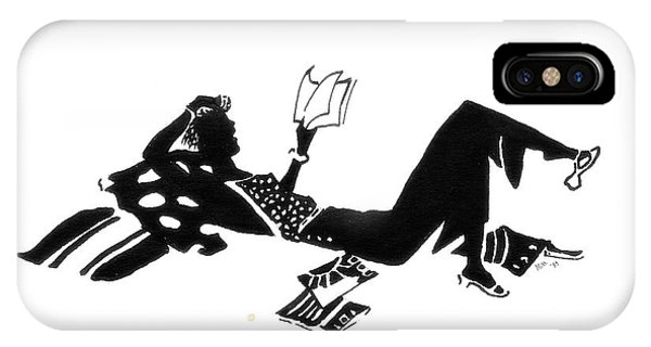 Relaxing With A Good Book IPhone Case