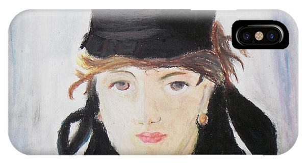 Remake Portrait Of Berthe Morisot IPhone Case