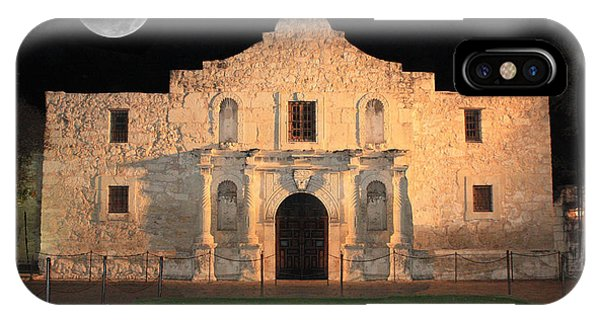 The Alamo iPhone Case - Remember The Alamo by Carol Groenen