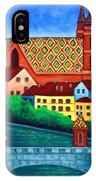 Remembering Basel IPhone Case