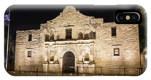 The Alamo iPhone Case - Remembering The Alamo by Stephen Stookey