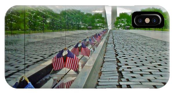 Remembrance Of Patriotism IPhone Case