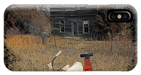 Wheeler Farm iPhone Case - Remnants Of Life by Christopher McKenzie
