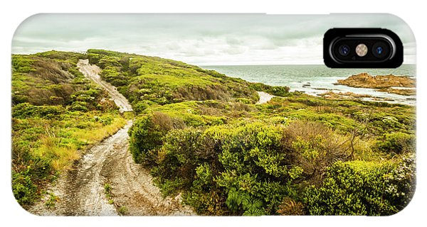 Hiking Path iPhone Case - Remote Australia Beach Trail by Jorgo Photography - Wall Art Gallery
