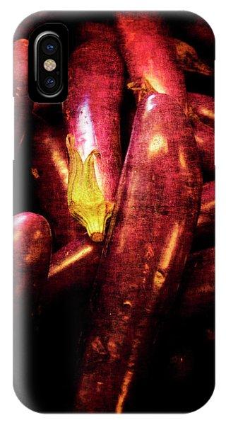 Renaissance Chinese Eggplant IPhone Case