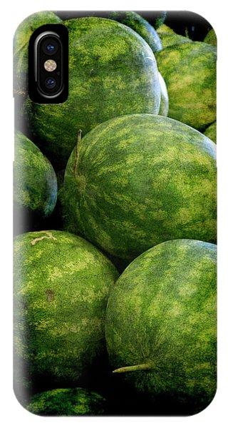 Renaissance Green Watermelon IPhone Case
