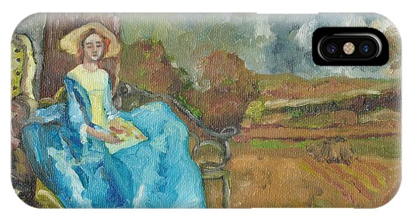 IPhone Case featuring the painting Renaissance by Janelle Dey