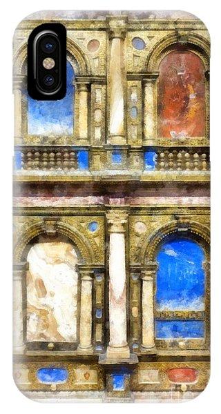 Palace iPhone Case - Renaissance Treasures by Edward Fielding