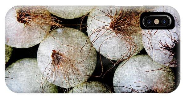 Renaissance White Onions IPhone Case