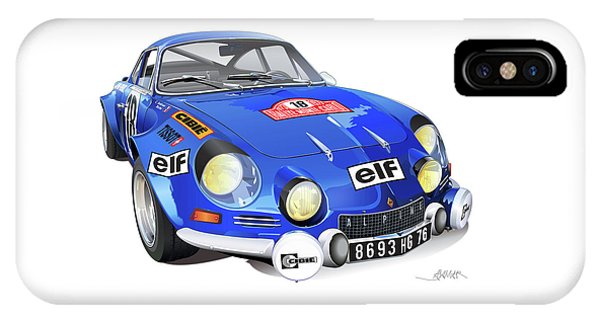 Alpine Renault A110 IPhone Case