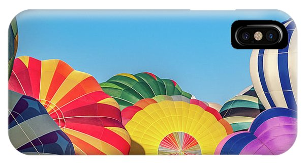 Liftoff iPhone Case - Reno Balloon Races by Bill Gallagher