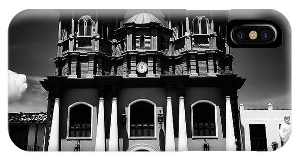 Replica Church In El Penol IPhone Case