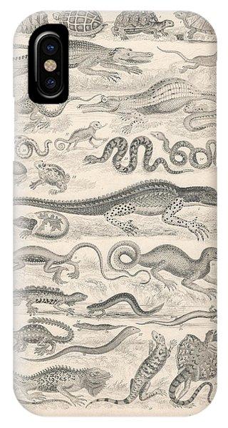 Reptiles IPhone Case