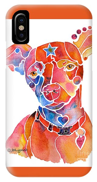 Rescue Dog - Mooch IPhone Case