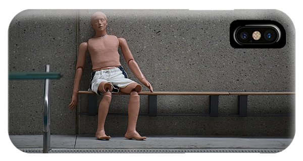 Rescue Dummy IPhone Case