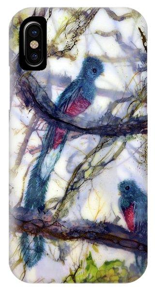 Resplendent Quetzal #1 IPhone Case