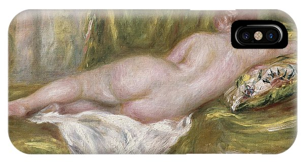 Women iPhone Case - Rest After The Bath by Pierre Auguste Renoir