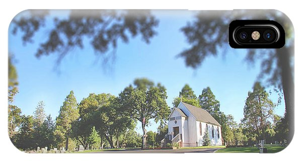 Chapel iPhone Case - Rest Now Your Weary Souls by Laurie Search