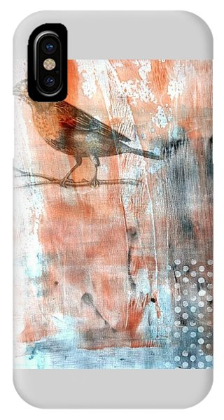 IPhone Case featuring the mixed media Restful Moment by Rose Legge