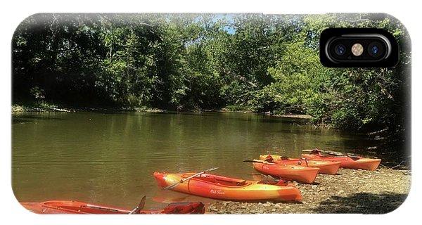 Resting Kayaks IPhone Case